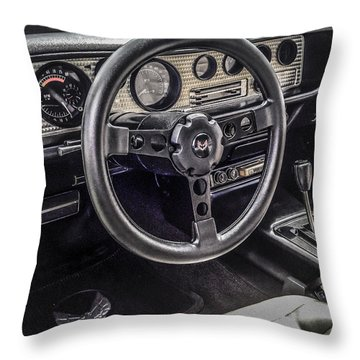 '80 Trans Am Throw Pillow