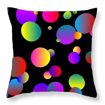 80's Jazz Throw Pillow