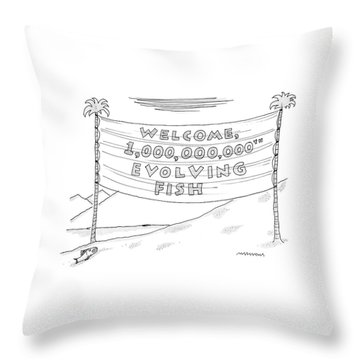 New Yorker May 15th, 2006 Throw Pillow