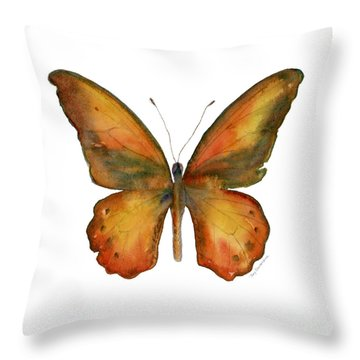 85 Lydius Butterfly Throw Pillow