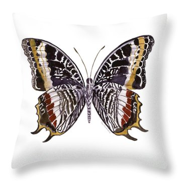 88 Castor Butterfly Throw Pillow