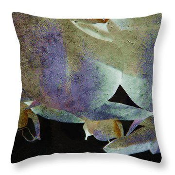 Orchids In Charming Color Throw Pillow