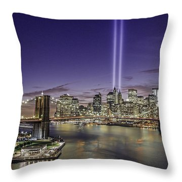 9-11-14 Throw Pillow