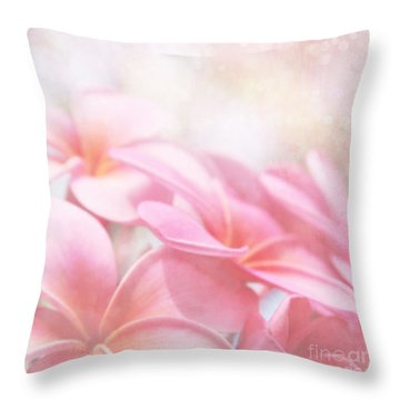 Throw Pillow featuring the photograph Aloha by Sharon Mau