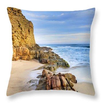 Cabo De Gata Throw Pillow by Guido Montanes Castillo