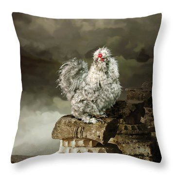 9. Cuckoo Angela Throw Pillow