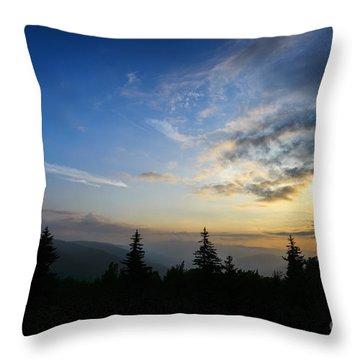 Summer Solstice Sunrise Throw Pillow by Thomas R Fletcher