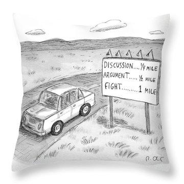 New Yorker August 1st, 2016 Throw Pillow