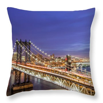 90 Miles An Hour  Throw Pillow
