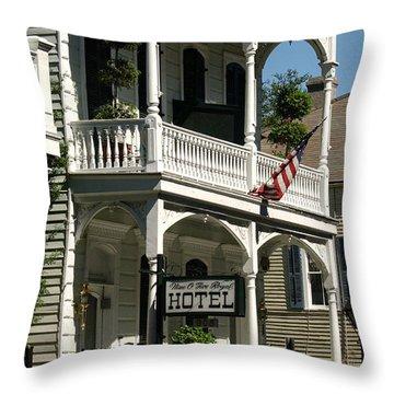 905 Royal Street Throw Pillow