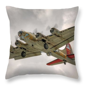 Throw Pillow featuring the photograph 909 by Jeff Cook