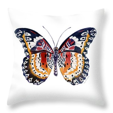 94 Lacewing Butterfly Throw Pillow