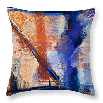 Feather Weight Throw Pillow by Tracy L Teeter