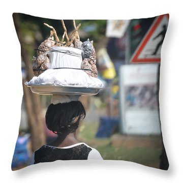 A Beautiful Balance Throw Pillow