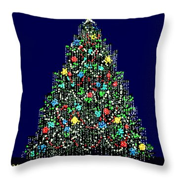 A Bedazzling Christmas Throw Pillow