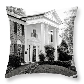 A Bit Of Graceland Throw Pillow