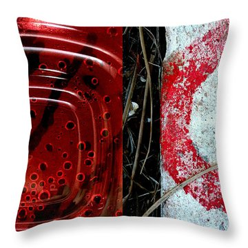 A Bit Of The Bubbly Throw Pillow