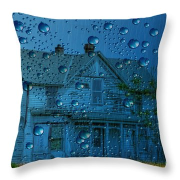 A Bit Of Whimsy For The Soul... Throw Pillow by Liane Wright