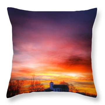 A Blessed Sunrise Throw Pillow