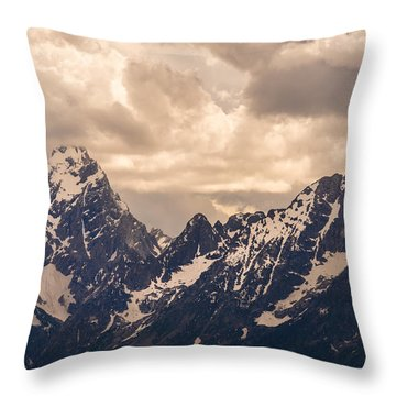 A Break Through Throw Pillow
