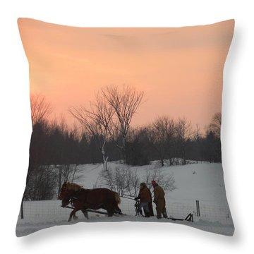 A Breath Of Fresh Air Throw Pillow
