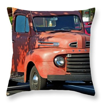 Throw Pillow featuring the photograph A Breath Of The Past by Pete Trenholm