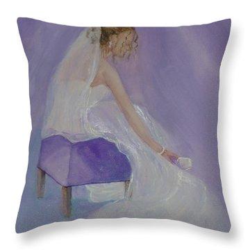 A Brides Soft Touch Throw Pillow