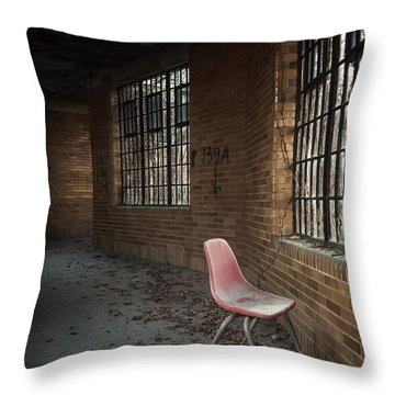 A Broken Serenade Throw Pillow