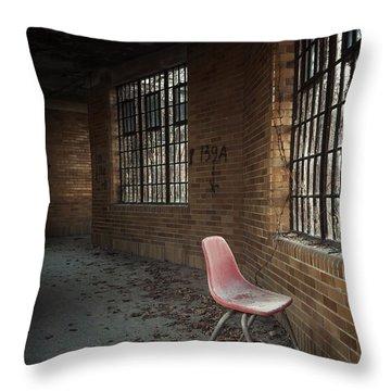 A Broken Serenade Throw Pillow by Evelina Kremsdorf