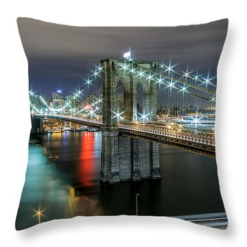 A Brooklyn View  Throw Pillow