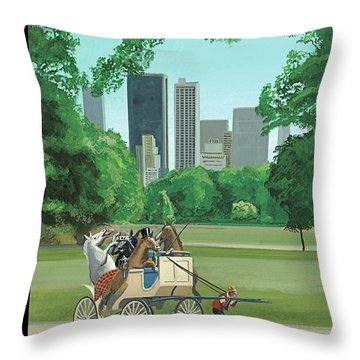 Carriage Throw Pillows