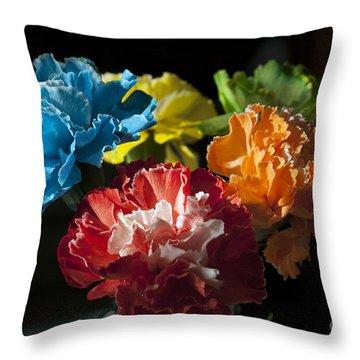 A Bunch Of Beauty Throw Pillow