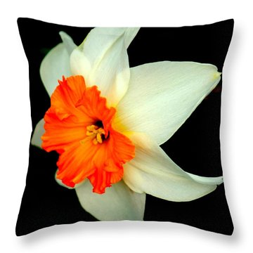 A Burst Of Springtime Glory Throw Pillow by Rosanne Jordan