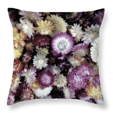A Bushel Of Autumn Throw Pillow