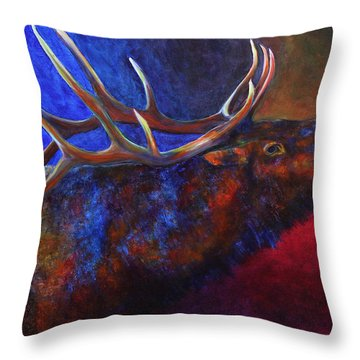 A Call In The Night Throw Pillow