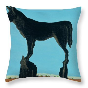 A Chestertown Moment , 1999 Throw Pillow