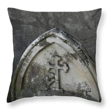 A Child Is Lost. Throw Pillow by Art Block Collections
