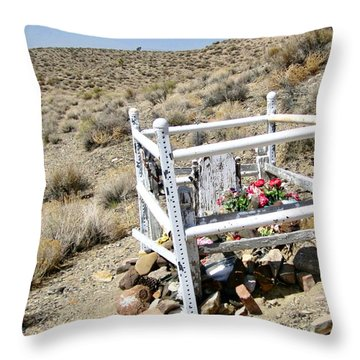 Throw Pillow featuring the photograph A Child by Marilyn Diaz
