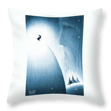 A Christmas Prayer Throw Pillow