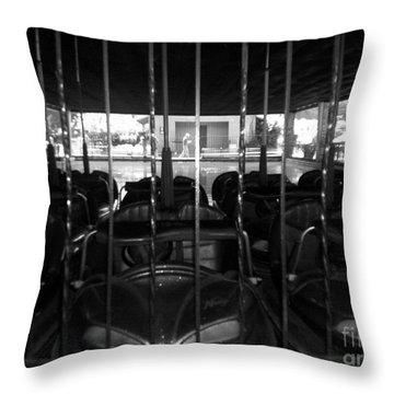 Throw Pillow featuring the photograph A Classic Car by Michael Krek