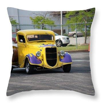 A Classic Truck Throw Pillow