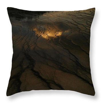 A Cloud In The Water Throw Pillow by Jeff Swan