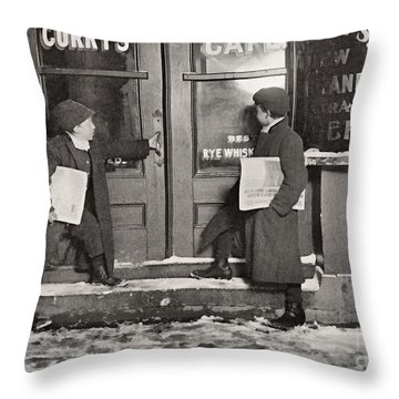 A Common Case Of Team Work Throw Pillow