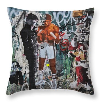 A Conflict Of Interests  Throw Pillow by Ann Murphy