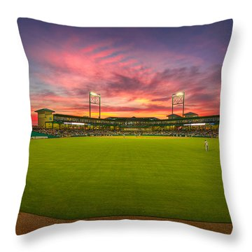 A Constellation Sunset Throw Pillow by Tim Stanley