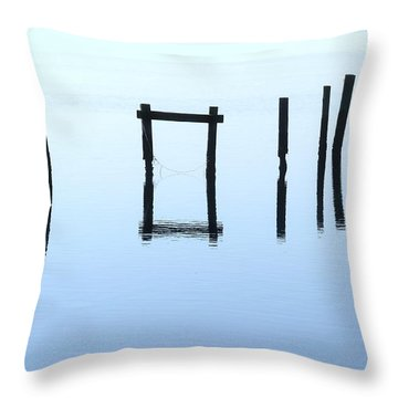 A Conversation With Nature Throw Pillow