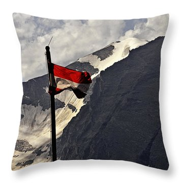 A Cool Summerbreeze - Austria Throw Pillow