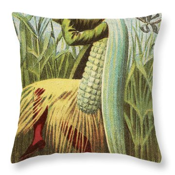 A Cornet Dance Throw Pillow by Aged Pixel