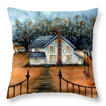 A Country Home Throw Pillow