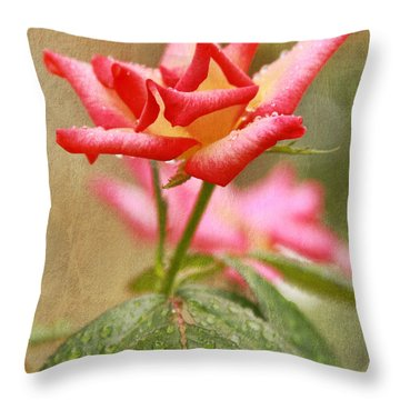 A Cut Above Throw Pillow